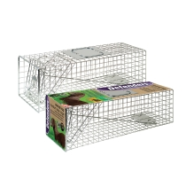 Defenders Animal Trap - Medium Size for trapping rabbits, squirrels and cats