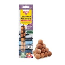 Cedarwood Moth Balls - 20 Balls