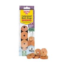 Cedarwood Moth Rings - 10 Pack