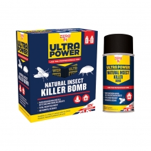 Ultra Power Natural Insect Killer Bomb - 150ml Aerosol Twin Pack