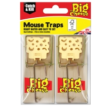 Cheese Pedal Mouse Traps - Twinpack