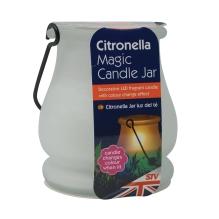 Citronella Colour-Change Candle Jar