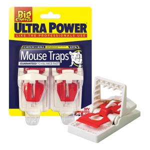 Ultra Power Mouse Traps - Twin Pack