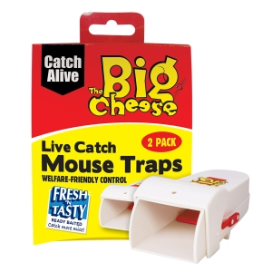 Live Catch Mouse Traps - Twin Pack