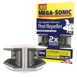 Ultra Power Mega-Sonic® Twin-Speaker Ultrasonic Pest Repeller