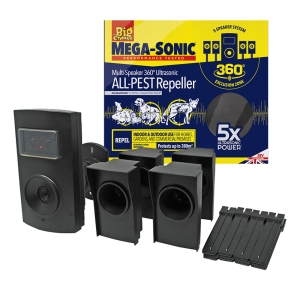 Ultra Power Mega-Sonic® Multi-Speaker Ultrasonic ALL-PEST Repeller