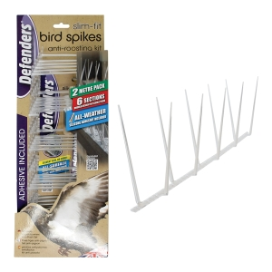 Slim-Fit Bird Spikes - 2 Metre Kit