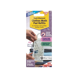 Demi-Diamond Clothes Moth Killer Refills - Twin Pack