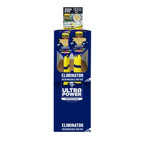 Eliminator Rechargeable Bug Bat Stack-A-Pack