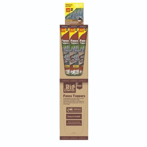 Prickle Strip Garden Fence Toppers Boxed - 6 Pack Stack-A-Pack