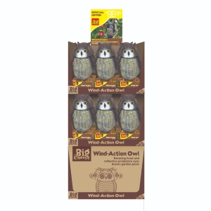 Wind-Action Owl Stack-A-Pack
