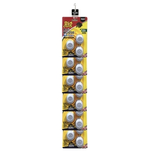 Anti Mouse Mini-Sonic Mouse Repellent - 3-Pack Clipstrip